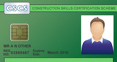 CSCS Green Card for construction labourers
